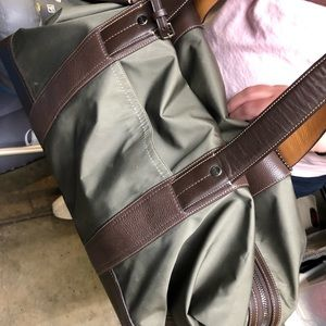 Coach Olive Green Duffle Bag